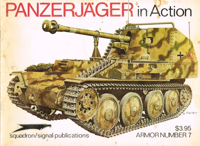 Image for PANZERJAGER IN ACTION
