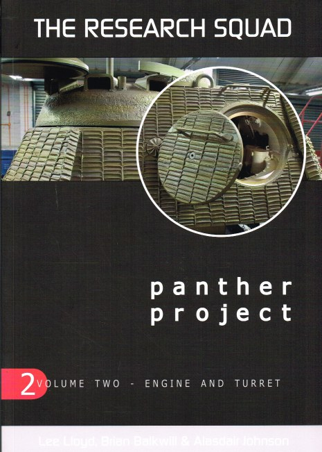 Image for THE RESEARCH SQUAD: THE PANTHER PROJECT VOLUME TWO: ENGINE AND TURRET