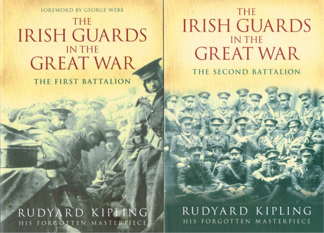 Image for THE IRISH GUARDS IN THE GREAT WAR: THE FIRST BATTALION + THE SECOND BATTALION (TWO VOLUME SET)