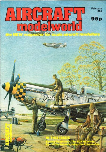 Image for AIRCRAFT MODELWORLD VOLUME 1 NO 12 : FEBRUARY 1985