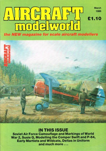Image for AIRCRAFT MODELWORLD VOLUME 3 NO 1 : MARCH 1986