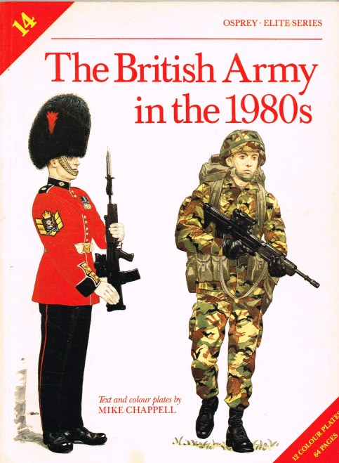 Image for THE BRITISH ARMY IN THE 1980S
