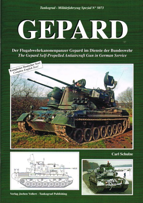 Image for GEPARD : THE GEPARD SELF-PROPELLED ANTIAIRCRAFT GUN IN GERMAN SERVICE