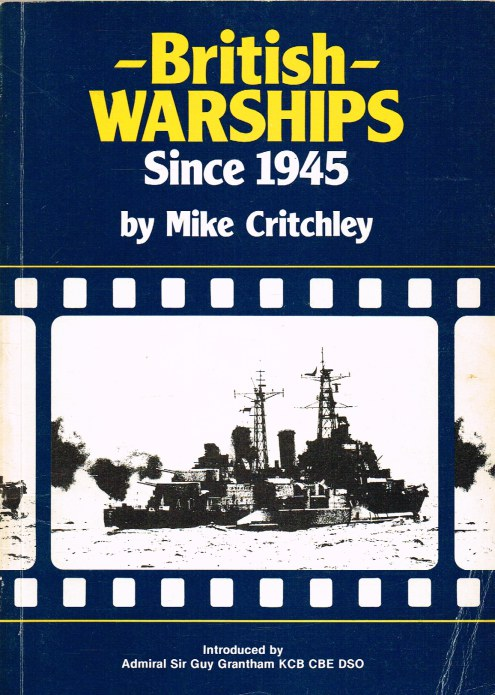 Image for BRITISH WARSHIPS SINCE 1945 : PART 1