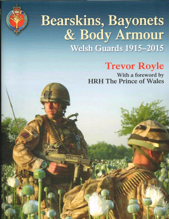 Image for BEARSKINS, BAYONETS & BODY ARMOUR : WELSH GUARDS, 1915-2015
