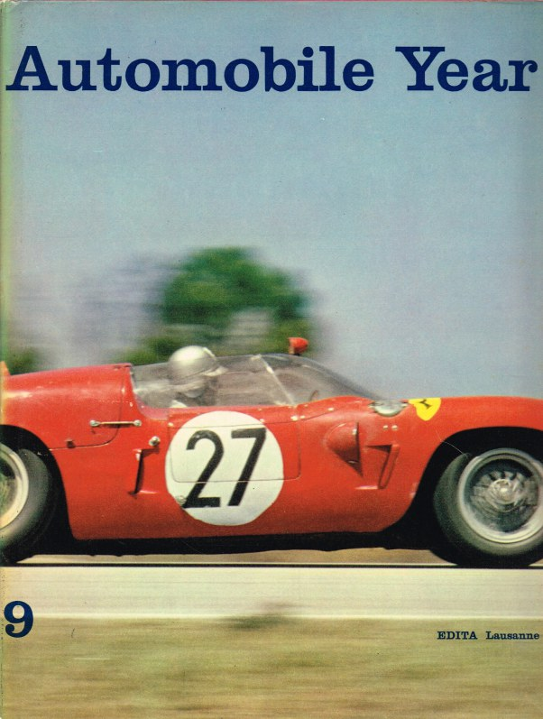 Image for AUTOMOBILE YEAR NO.9 EDITION 1961-1962