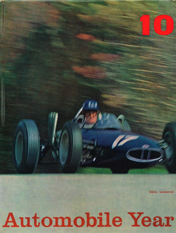 Image for AUTOMOBILE YEAR NO.10 EDITION 1962-1963