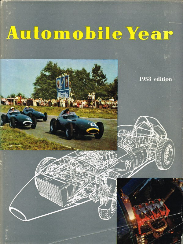 Image for AUTOMOBILE YEAR : ANNUAL AUTOMOBILE REVIEW NO.5 1957-1958