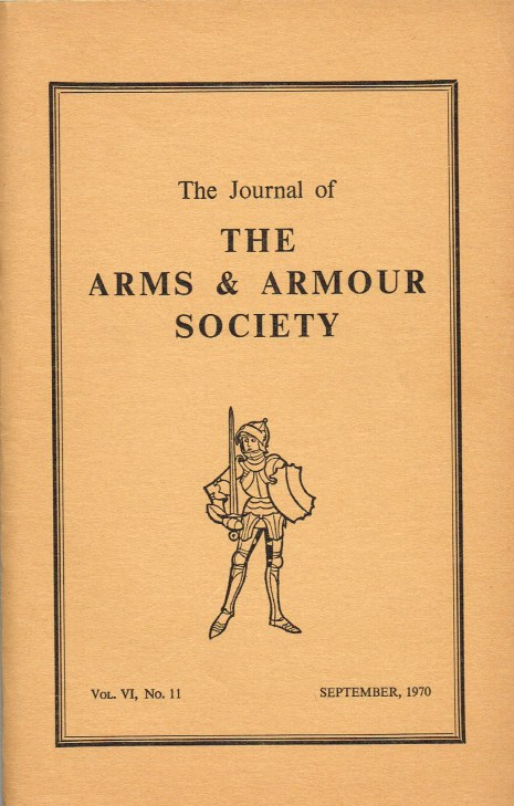 Image for THE JOURNAL OF THE ARMS AND ARMOUR SOCIETY: VOL.VI, NO.11 : SOME NOTES ON THE PISTOL IN EARLY 17TH CENTURY ENGLAND