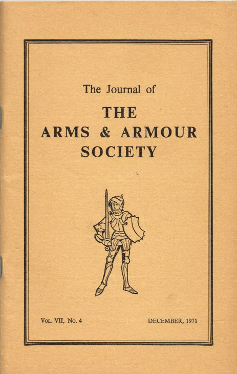 Image for THE JOURNAL OF THE ARMS AND ARMOUR SOCIETY: VOL.VII, NO.4 : THE BIRMINGHAM GUN TRADE