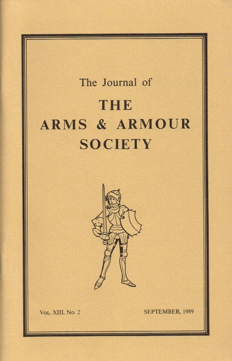 Image for THE JOURNAL OF THE ARMS AND ARMOUR SOCIETY: VOL.XIII, NO.2 : ON THE REMAINS OF A JACK OF PLATE EXCAVATED FROM BEESTON CASTLE IN CHESHIRE