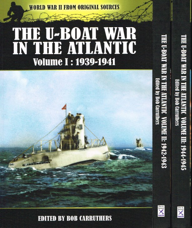 Image for THE U-BOAT WAR IN THE ATLANTIC 1939-1945 (THREE VOLUME SET)