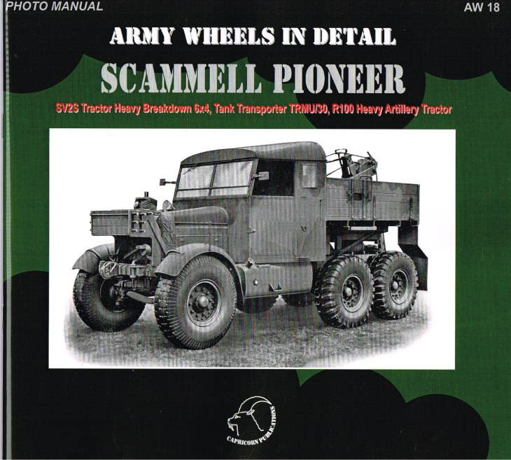 Image for ARMY WHEELS IN DETAIL: SCAMMELL PIONEER