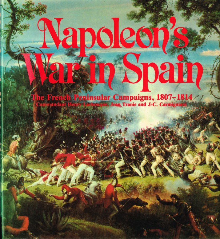 Image for NAPOLEON'S WAR IN SPAIN : THE FRENCH PENINSULAR CAMPAIGNS 1807-1814