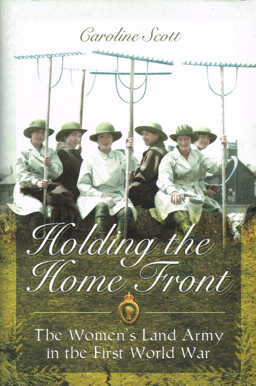Image for HOLDING THE HOME FRONT : THE WOMEN'S LAND ARMY IN THE FIRST WORLD WAR