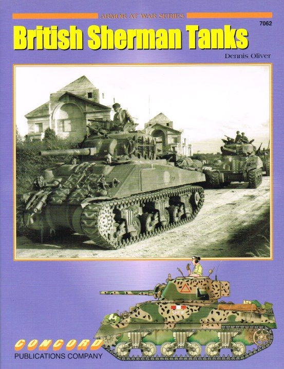 Image for BRITISH SHERMAN TANKS