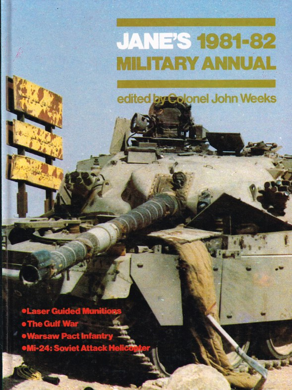 Image for JANE'S 1981-82 MILITARY ANNUAL
