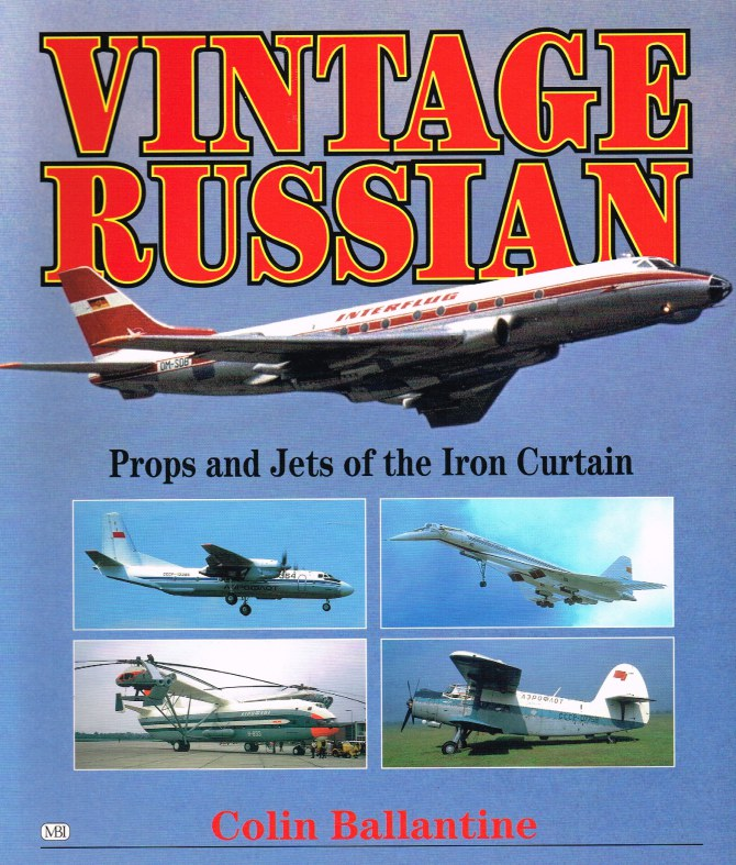 Image for VINTAGE RUSSIAN : PROPS AND JETS OF THE IRON CURTAIN