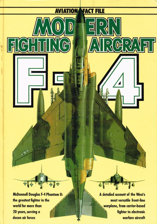 Image for AVIATION FACT FILE: MODERN FIGHTING AIRCRAFT : F-4 PHANTOM II