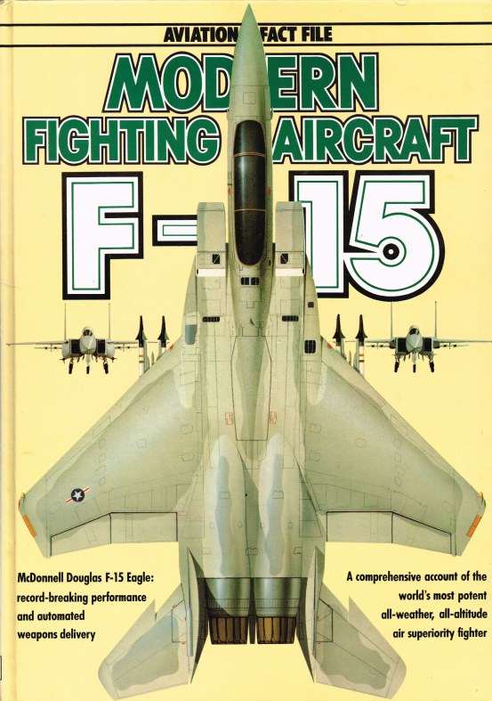 Image for AVIATION FACT FILE: MODERN FIGHTING AIRCRAFT : F-15 EAGLE