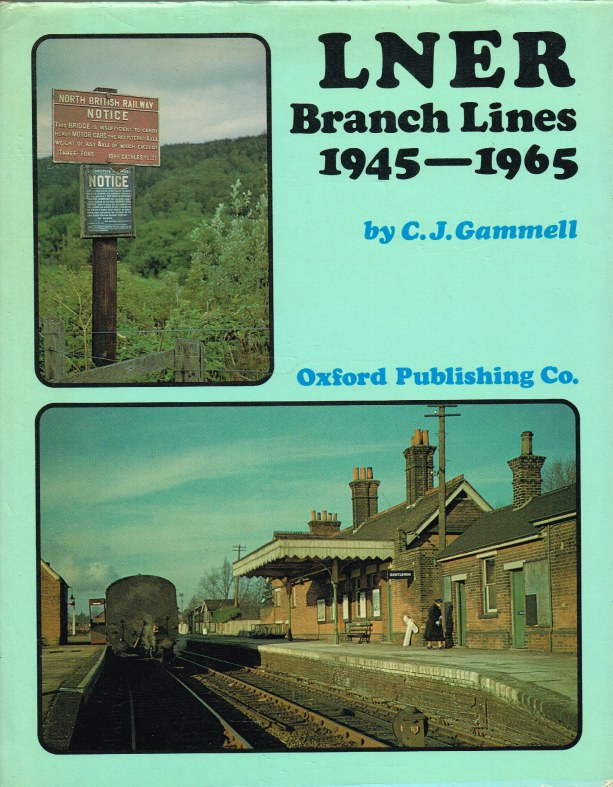 Image for LNER BRANCH LINES 1945-1965
