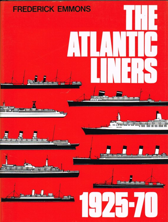 Image for THE ATLANTIC LINERS 1925-70