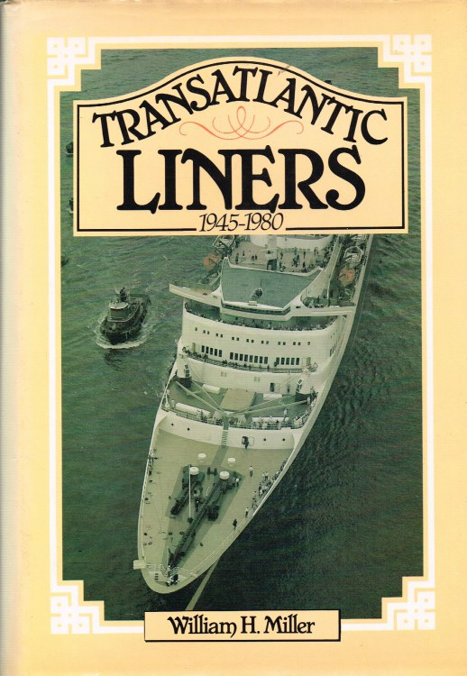 Image for TRANSATLANTIC LINERS 1945-1980