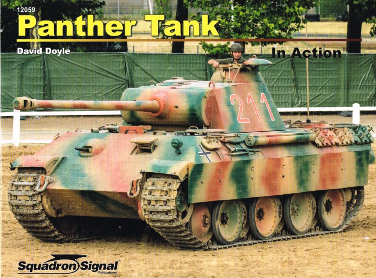 Image for PANTHER TANK IN ACTION