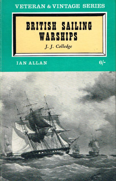 Image for VETERAN & VINTAGE SERIES : BRITISH SAILING WARSHIPS