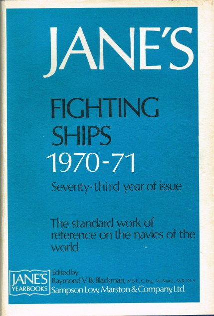 Image for JANE'S FIGHTING SHIPS 1970-71
