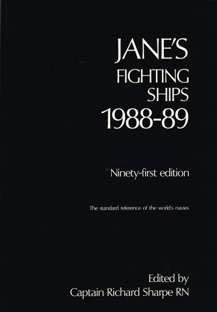 Image for JANE'S FIGHTING SHIPS 1988-89