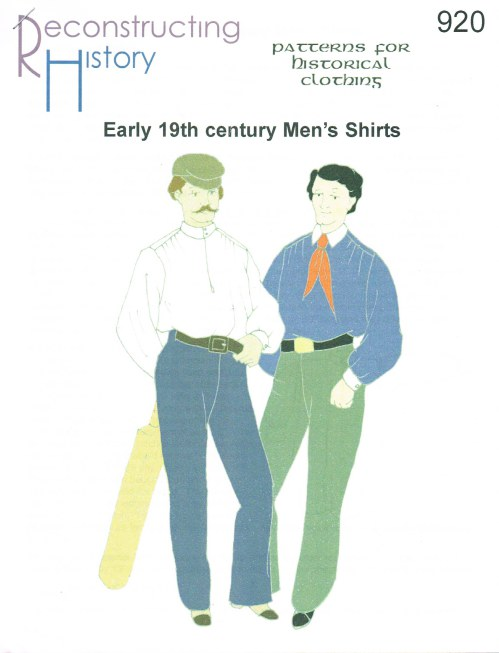 Image for RH920: EARLY 19TH CENTURY MEN'S SHIRTS