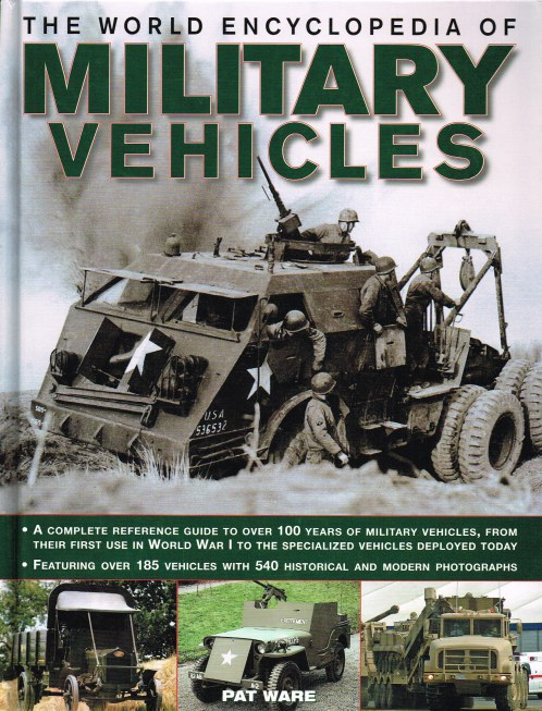 Image for THE WORLD ENCYCLOPEDIA OF MILITARY VEHICLES