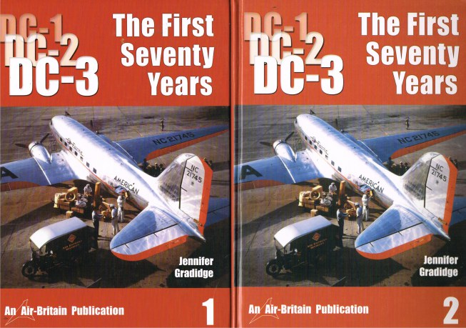 Image for THE DOUGLAS DC-1 / DC-2 / DC-3 THE FIRST SEVENTY YEARS (TWO VOLUME SET)