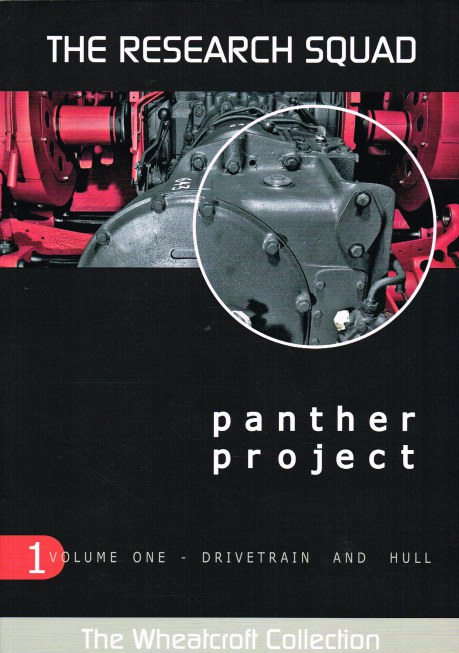 Image for THE RESEARCH SQUAD: THE PANTHER PROJECT VOLUME ONE: DRIVETRAIN AND HULL