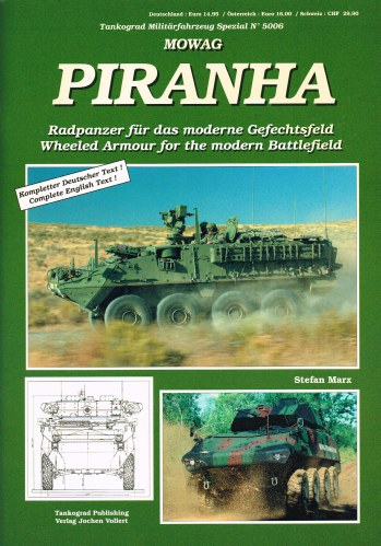 Image for MOWAG PIRANHA : WHEELED ARMOUR FOR THE MODERN BATTLEFIELD