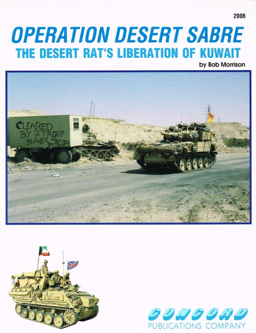 Image for OPERATION DESERT SABRE : THE DESERT RAT'S LIBERATION OF KUWAIT