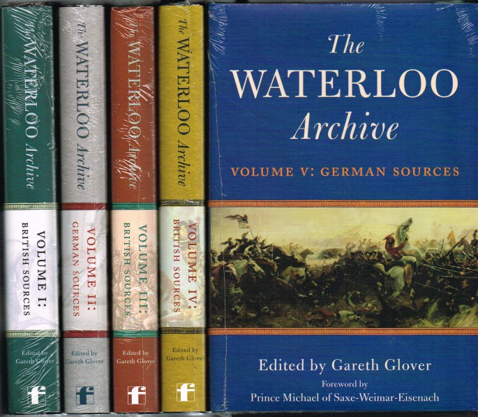 Image for THE WATERLOO ARCHIVE VOLUME (FIVE VOLUME SET)