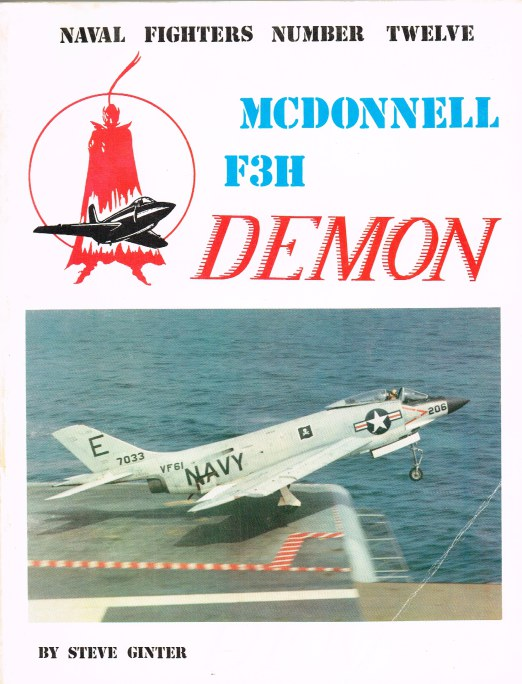 Image for NAVAL FIGHTERS NUMBER TWELVE: MCDONNELL F3H DEMON