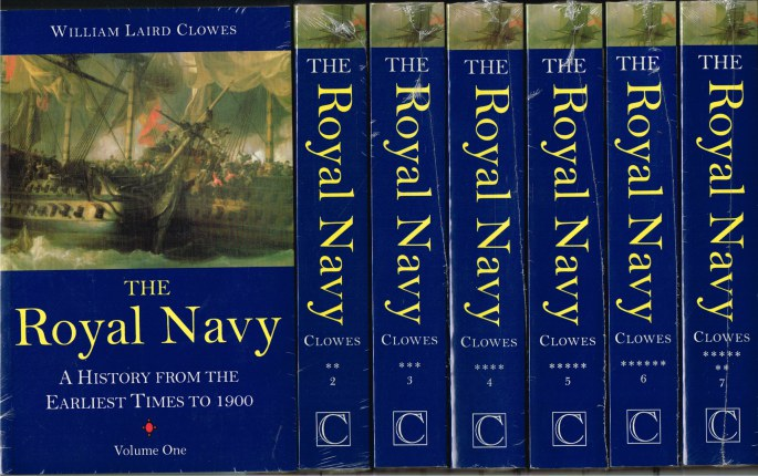 Image for THE ROYAL NAVY : A HISTORY FROM THE EARLIEST TIMES TO 1900 (7 VOLUME SET)
