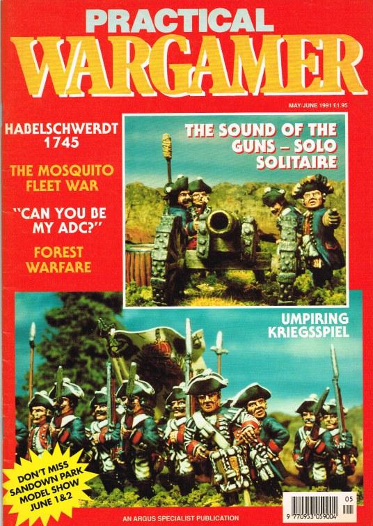 Image for PRACTICAL WARGAMER NO.18 MAY/JUNE 1991