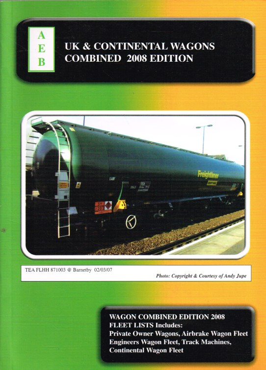 Image for UK & CONTINENTAL WAGONS COMBINED 2008 EDITION