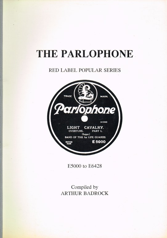 Image for THE PARLOPHONE RED LABEL POPULAR SERIES E5000 - E6428