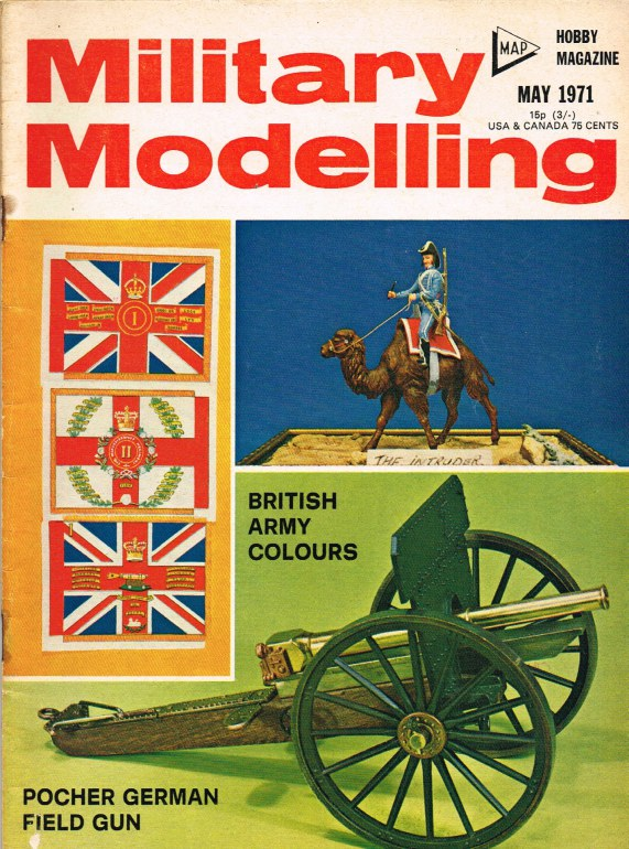 Image for MILITARY MODELLING VOLUME 1: ISSUE NO.5: MAY 1971