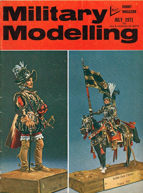 Image for MILITARY MODELLING VOLUME 1: ISSUE NO.7: JULY 1971