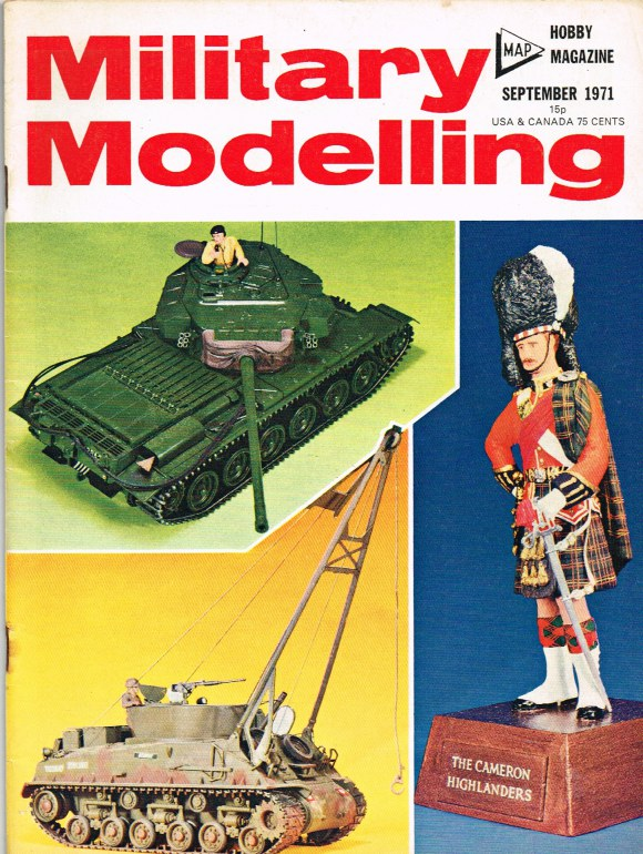Image for MILITARY MODELLING VOLUME 1: ISSUE NO.9: SEPTEMBER 1971