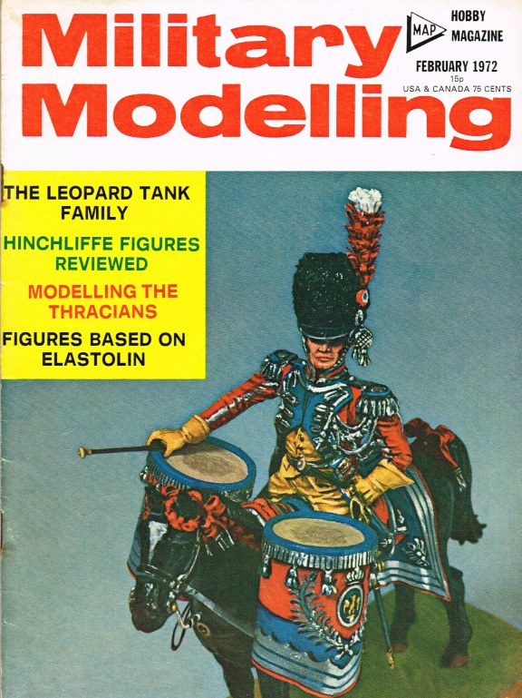 Image for MILITARY MODELLING VOLUME 2: ISSUE NO.2: FEBRUARY 1972