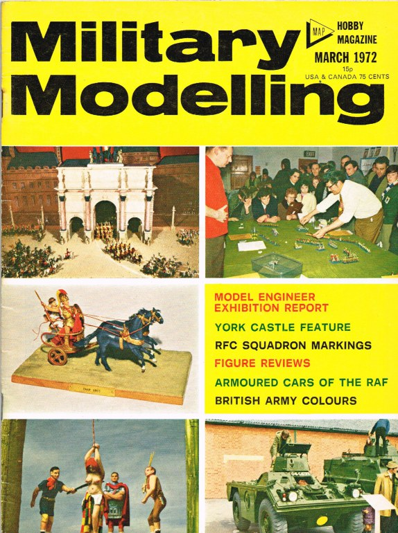Image for MILITARY MODELLING VOLUME 2: ISSUE NO.3: MARCH 1972