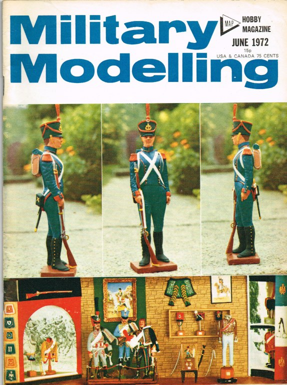 Image for MILITARY MODELLING VOLUME 2: ISSUE NO.6: JUNE 1972