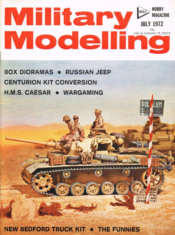 Image for MILITARY MODELLING VOLUME 2: ISSUE NO.7: JULY 1972